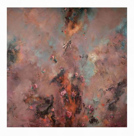 Chris Rivers | Planets | 2020 | Limited Edition Print on Canson Arches Aquarelle Rag | 90 x 90 cm (35.4 x 35.4 in) | Edition of 75