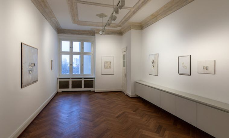 Drawing Room, Christian Haake. on displays, installation view 2, Photo: Helge Mundt Hamburg