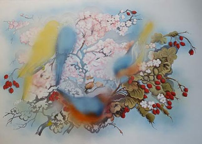 Christina Niederberger: New Paintings: Image 0