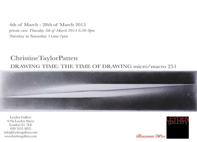 Christine Taylor Patten | DRAWING TIME: THE TIME OF DRAWING micro/macro: 251: Image 1