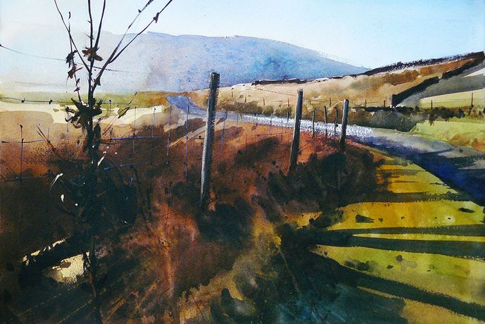 Crossing the Moor by Paul Talbot-Greaves