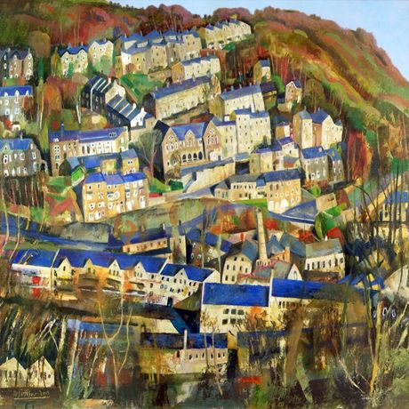 Hebden Bridge by Mark Sofilas