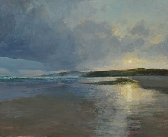 Ramsay Gibb, Cape Wrath, sunrise. 70 x 59 cm