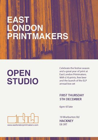 Christmas Open Studio at East London Printmakers: Image 0