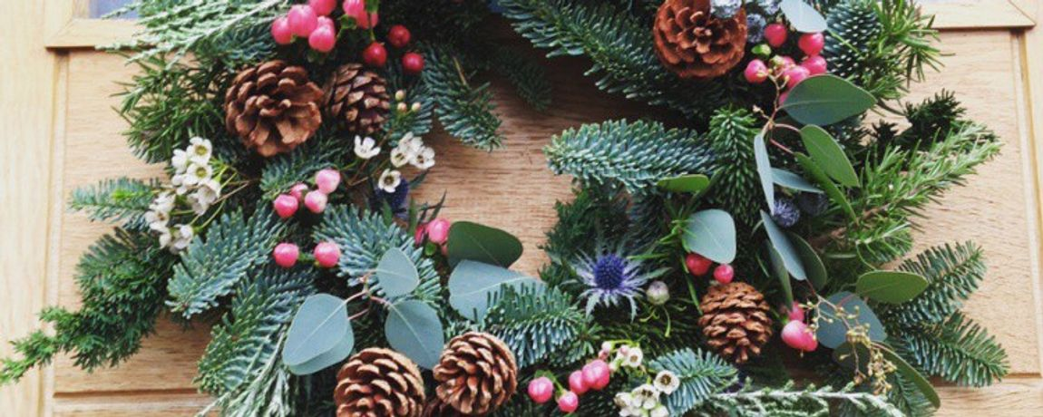 Christmas Wreath-Making