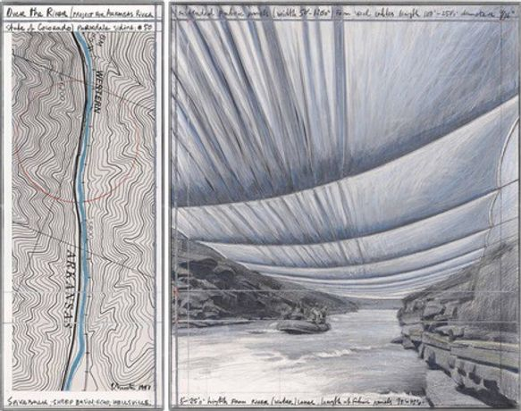 CHRISTO AND JEANNE-CLAUDE | A Life of Projects: Image 1