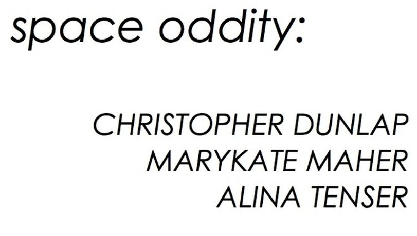 Christopher Dunlap / MaryKate Maher / Alina Tenser. Space Oddity: Image 0