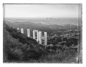 Hollywood Sign I, Hollywood Hills, Los Angeles, 2017 Archival pigment print 22 x 30 in. Edition of 25 © Christopher Thomas