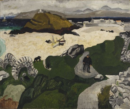 Christopher Wood, Portmeor Beach, 1928, private collection