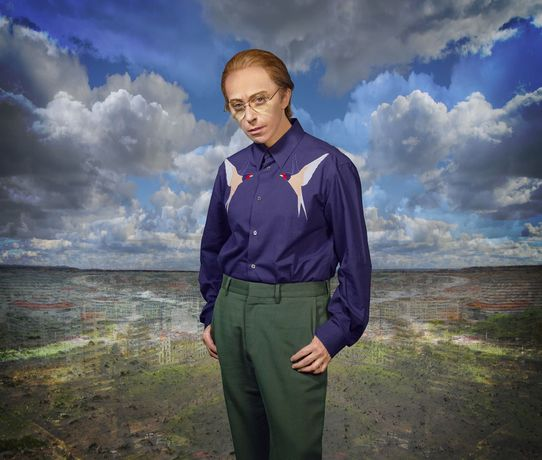 Cindy Sherman, Untitled #611, 2019, Dye sublimation print, 231.1 x 272.4 cm. Courtesy Sprüth Magers and Metro Pictures, New York