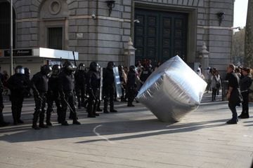 Inflatable Cobblestone. Image Credit: V & A