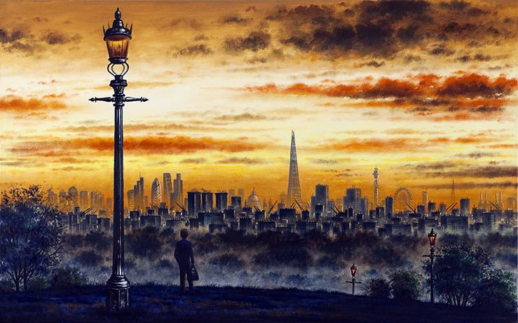 John Duffin London From Primrose Hill