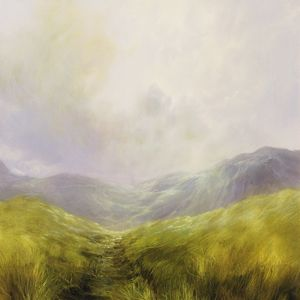 'Down the Grassy Path' by Clare Haley