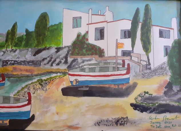 Gordon Stewart, The Dali House, Port Lligat (£130)