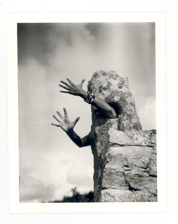 Claude Cahun, Je tends les bras, 1931. Copyright and courtesy Jersey Heritage