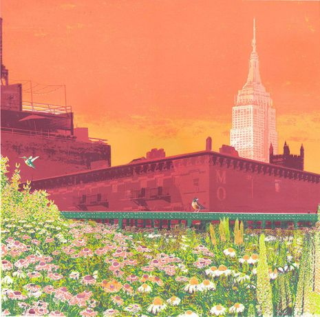 An Empire State of Mind £400 unframed