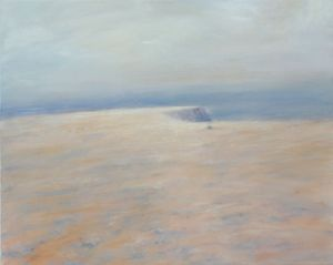 Cliffs Clefts & Horizons, Paintings by Caroline Meynell