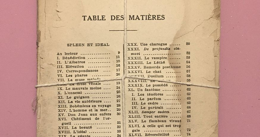 Clinton Hayden, Table Des Matieres