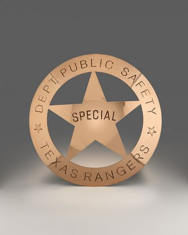 Texas Rangers Badge, 2015