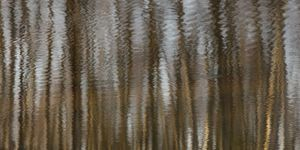 ANGELIKA SPRANGER: WATERS OF WIMBLEDON III Colour pigments fused onto aluminium 75 x 150cm 1/25 Limited Edition