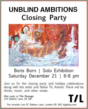 Closing Party & Holiday Celebrations | Unblind Ambitions