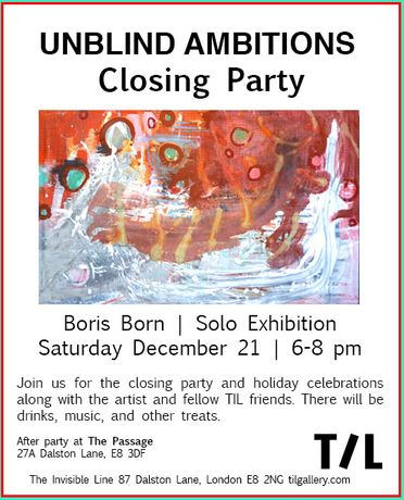 Closing Party & Holiday Celebrations | Unblind Ambitions: Image 0