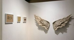 Image of Susan Hannon and Michelle Kingdom's works