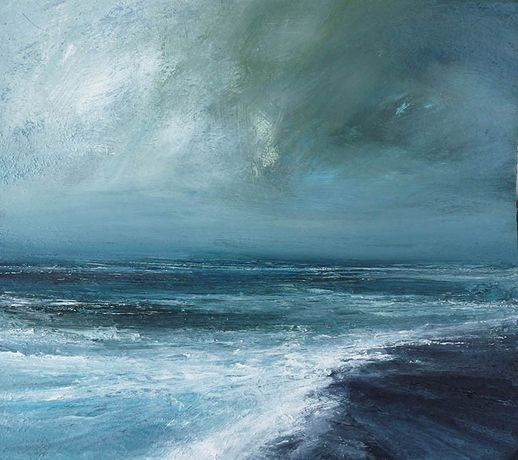 Southerly Gale on North Sea. Ruth Brownlee