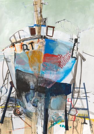'Winter Refit' by Karen Stamper