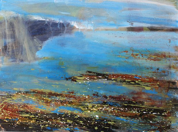 'Across Priests Cove' by Clare Maria Wood