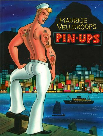 Cover of Maurice Vellekoop's Pin-ups