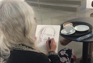 Coffee Morning with Sketching