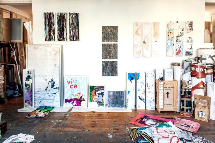 Inside the studio of Pola Brändle