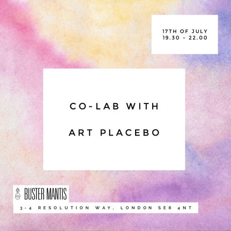 CO-LAB with Art Placebo (17th July)