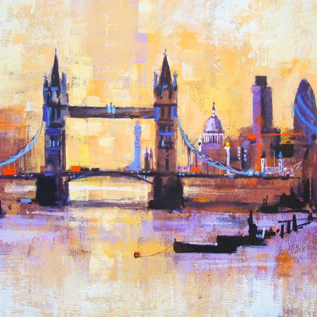 Colours of London - Colin Ruffell