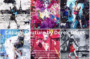 Collage Couture Art Fashion Fusion Exhibition by Derek Gores
