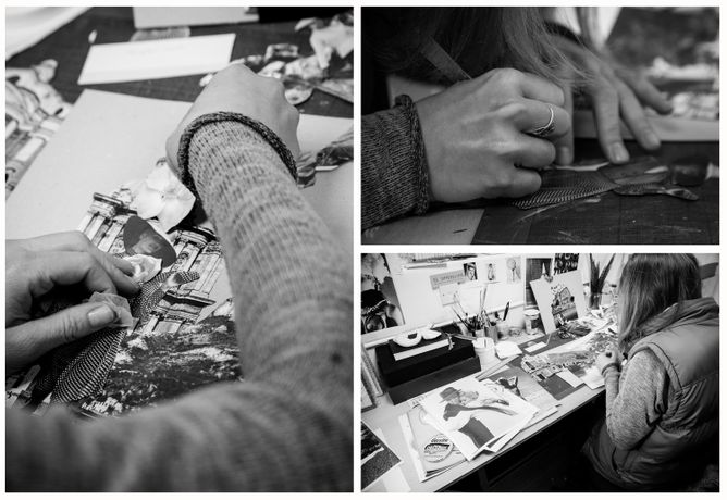 Collage workshop with Linda Bernhard: Image 0