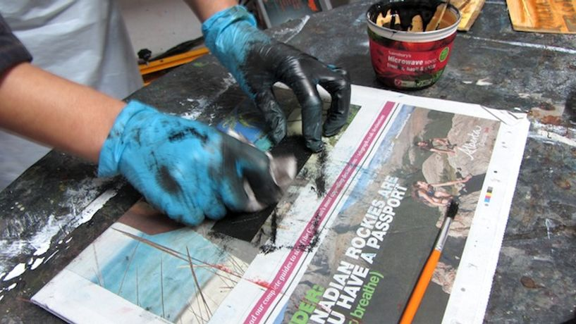 Collagraph and Carborundum Printmaking: Image 0