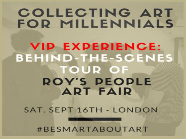 Collecting Art for Millennials - VIP event before opening at London art fair: Image 0