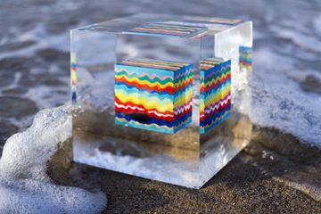 Susi Kramer, Cube waves, 2016
