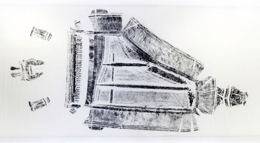 Grand Piano, 2017, Printmaking, 506cm x 240cm, Jay Price
