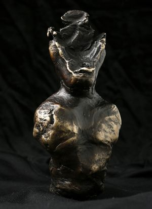 The Witness, 2017, Bronze Sculpture,  Henry Hussey
