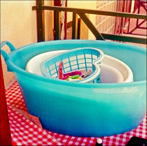 Washing Basket by Emma Sywyj