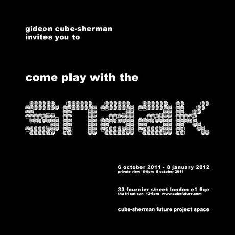 come play with the SNAAK: Image 0