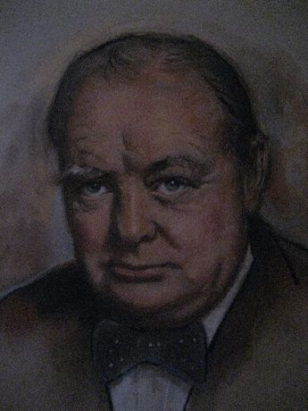 competition for portrait of Sir Winston Churchill: Image 0