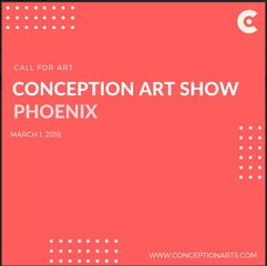 Call for artists - Conception Art Show - Mar. 1, 2018