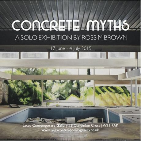 Concrete Myths: A Solo Exhibition by Ross  Brown: Image 0