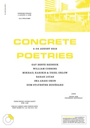 Concrete Poetries