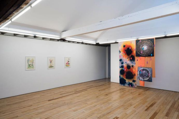 Installation view, Condo New York, Koppe Astner