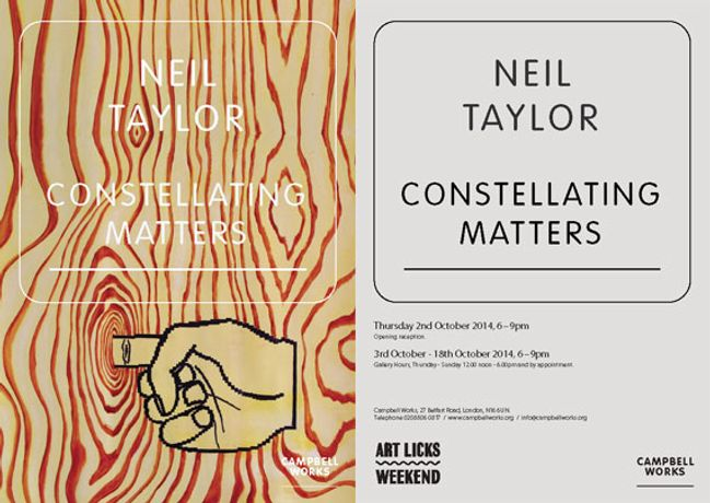 Constellating Matters - Neil taylor: Image 0